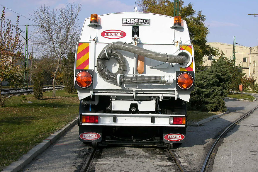 Rail Way Sweeper Machine Erdemli Sweepers