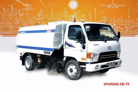 Sample Vacuum Road Sweepers On Hyundai Trucks Erdemli Sweepers