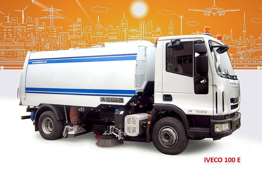 Sample Vacuum Road Sweepers On Iveco Trucks Erdemli Sweepers