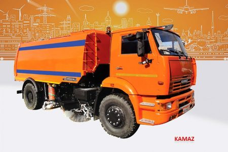 Sample Vacuum Road Sweepers On Kamaz Trucks Erdemli Sweepers