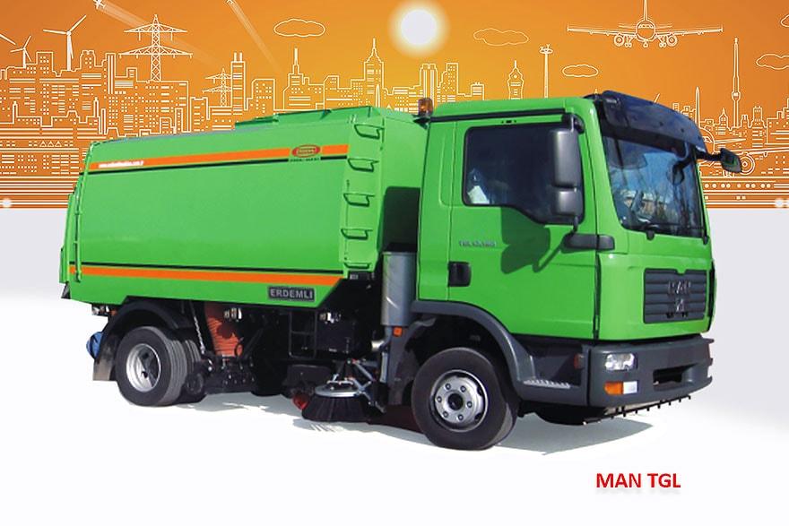Sample Vacuum Road Sweepers On Man Trucks Erdemli Sweepers
