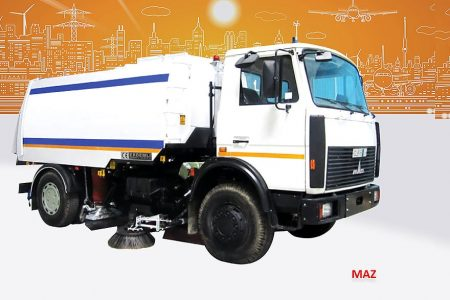 Sample Vacuum Road Sweepers On Maz Trucks Erdemli Sweepers