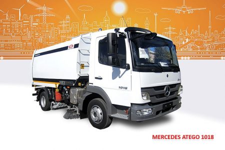 Sample Vacuum Road Sweepers On Mercedes Trucks Erdemli Sweepers