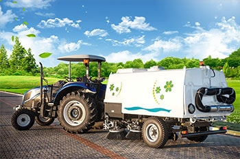 Tractor Towed Vacuum Road Sweeper Erdemli