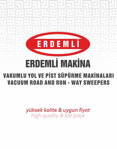 Erdemli Road Sweepers Machine Catalog