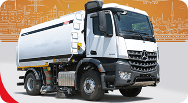 Erdemli Road Sweepers Machine