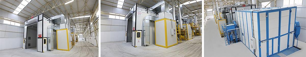 Erdemli Road Sweepers Machine Production