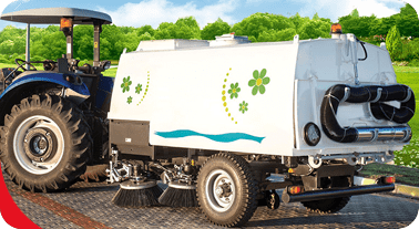 Otoyapi Machinery TRA-VAC 500 Tractor Towed Vacuum Road Sweeper