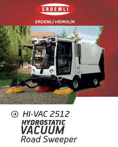 Compact Type Vacuum Road Sweepers Catalog