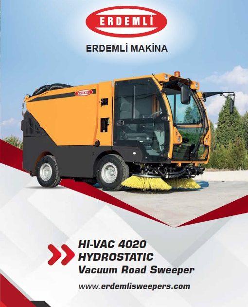 Hydrostatic Vacuum Road Sweepers