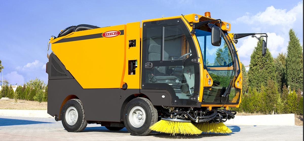 2 m3 HI-VAC 4020 Compact Type Vacuum Road Sweeper   Erdemli Sweepers,  Vacuum Road Sweepers, Street Sweeper,City Sweeper